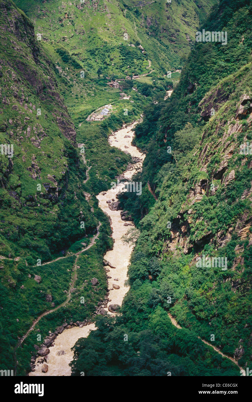 Kali river Ganges ; kumaon ; india Stock Photo, Royalty ...
