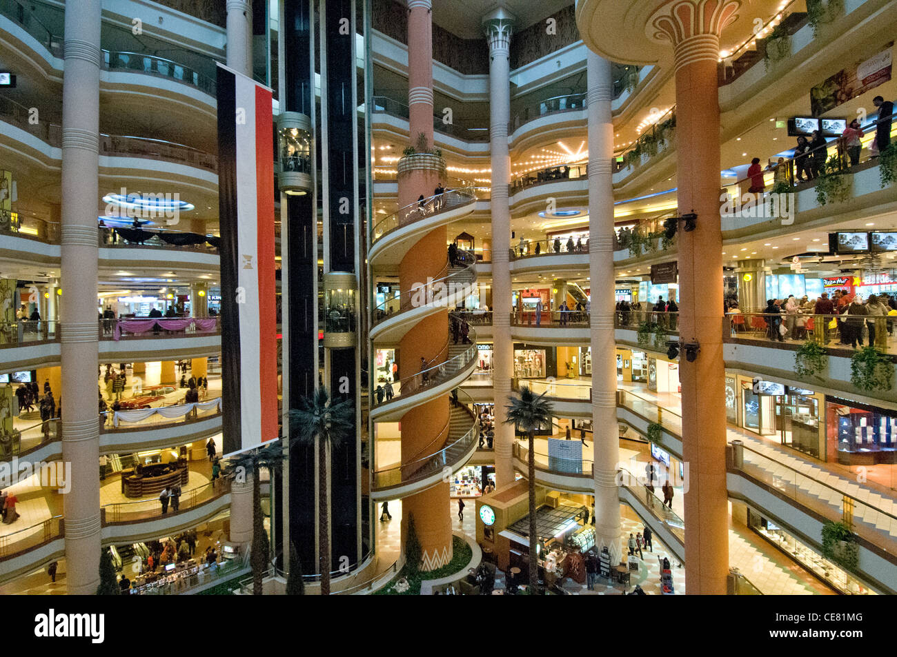 City Star Malls In Heliopolis Cairo Is The Largest Mall In