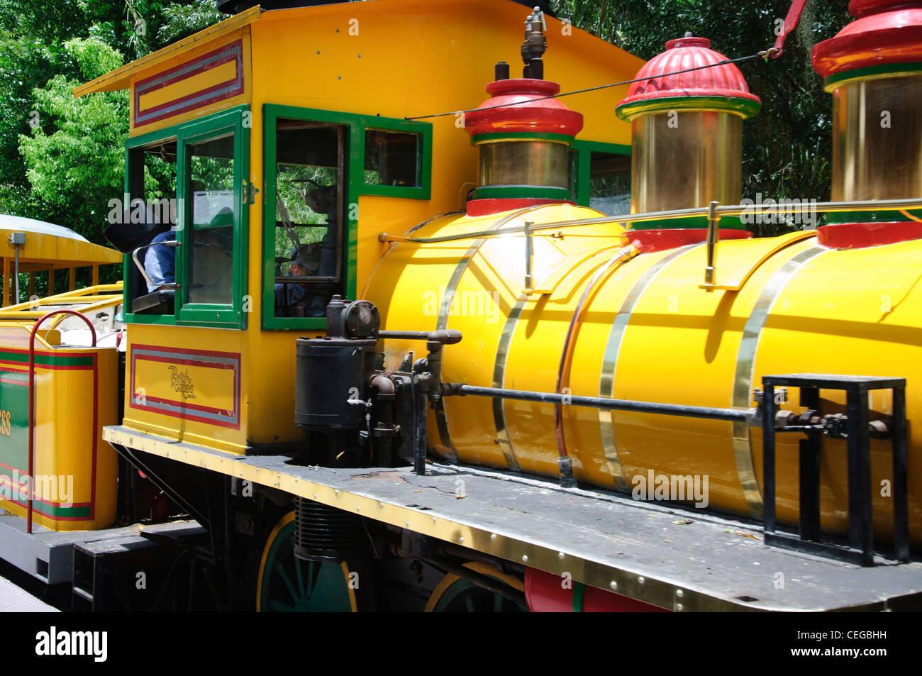 Busch gardens safari train orlando florida stock photo How far is busch gardens from orlando