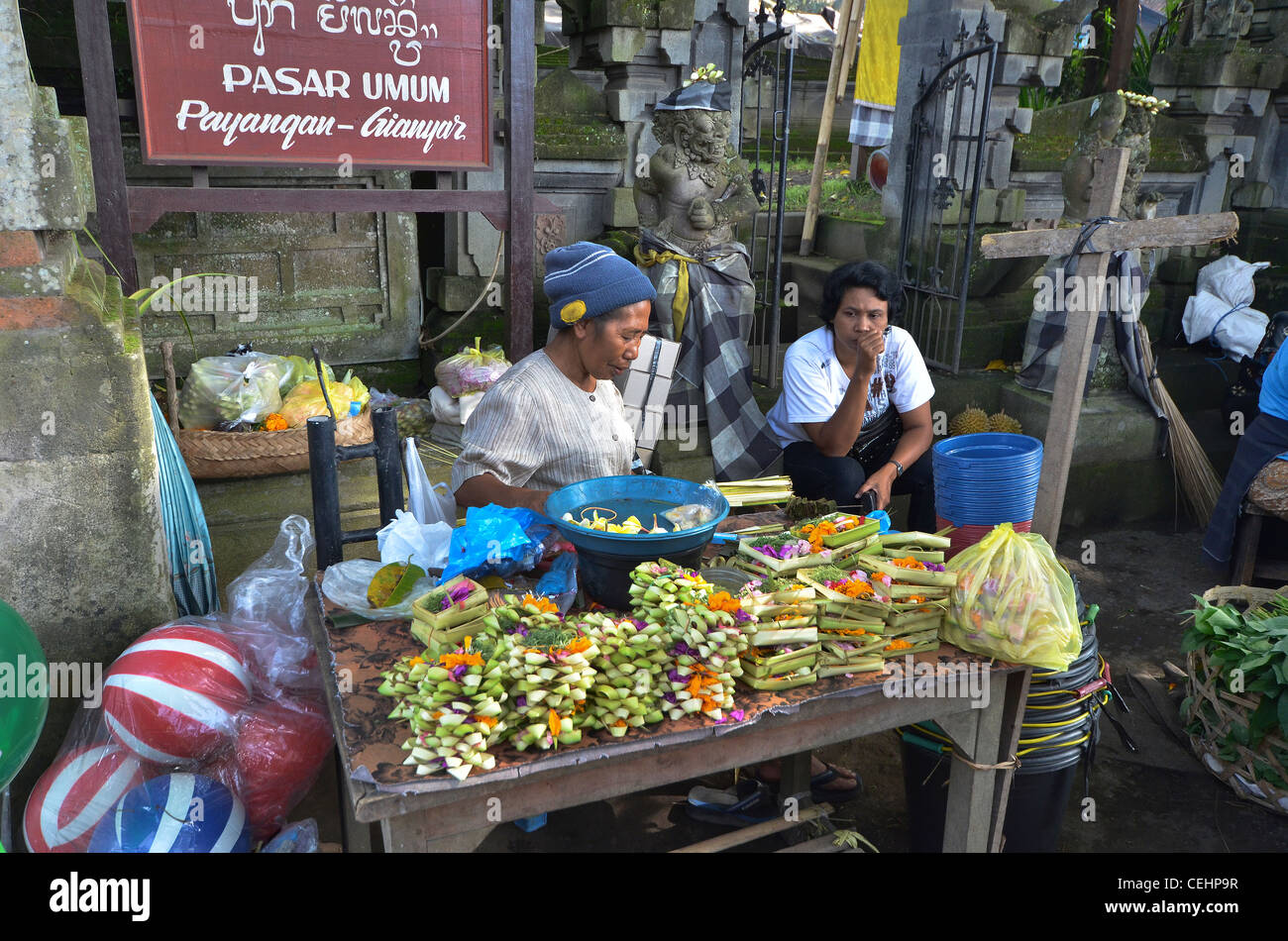 Ubud Market Food