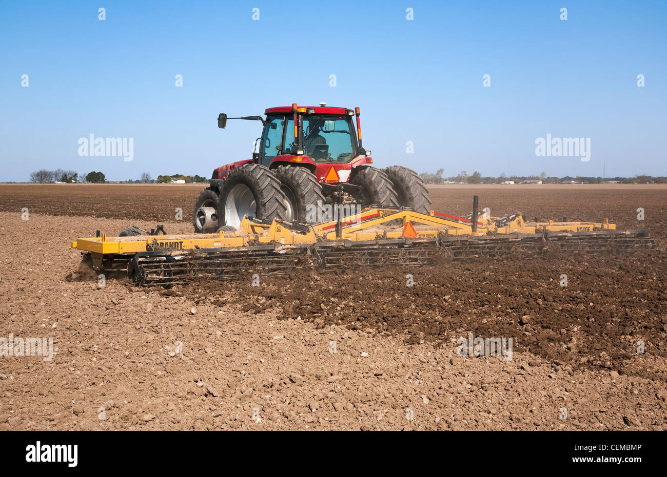 Case Tractor Posters : A case ih tractor and field implement prepare bedded soil