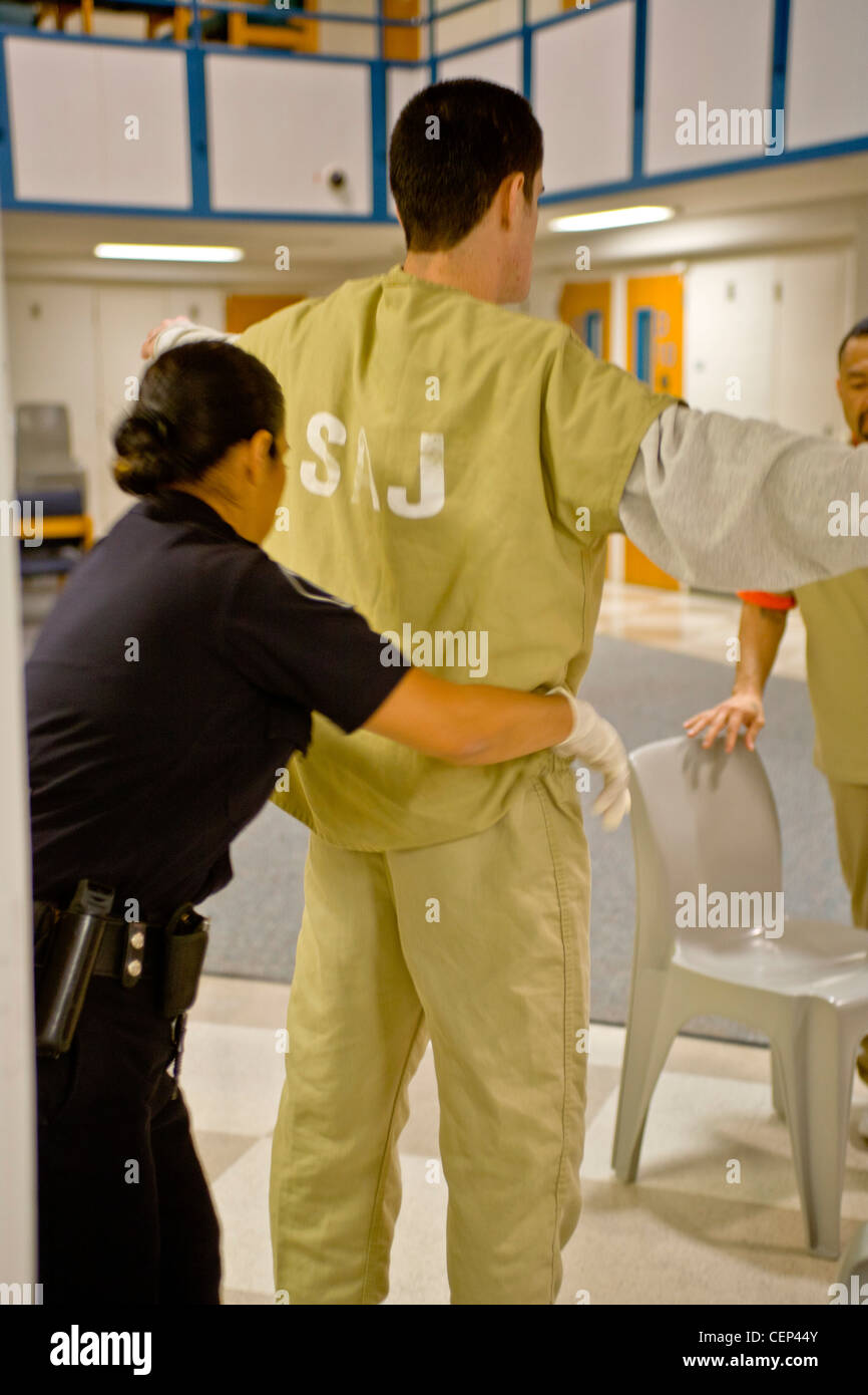 Turns out? Female corrections officer strip search phrase... super