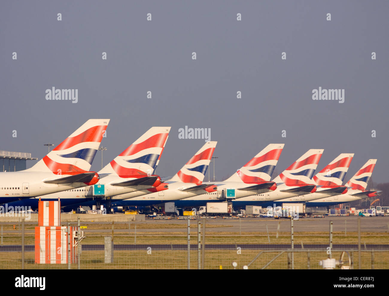 a-row-of-tail-fins-from-british-airways-