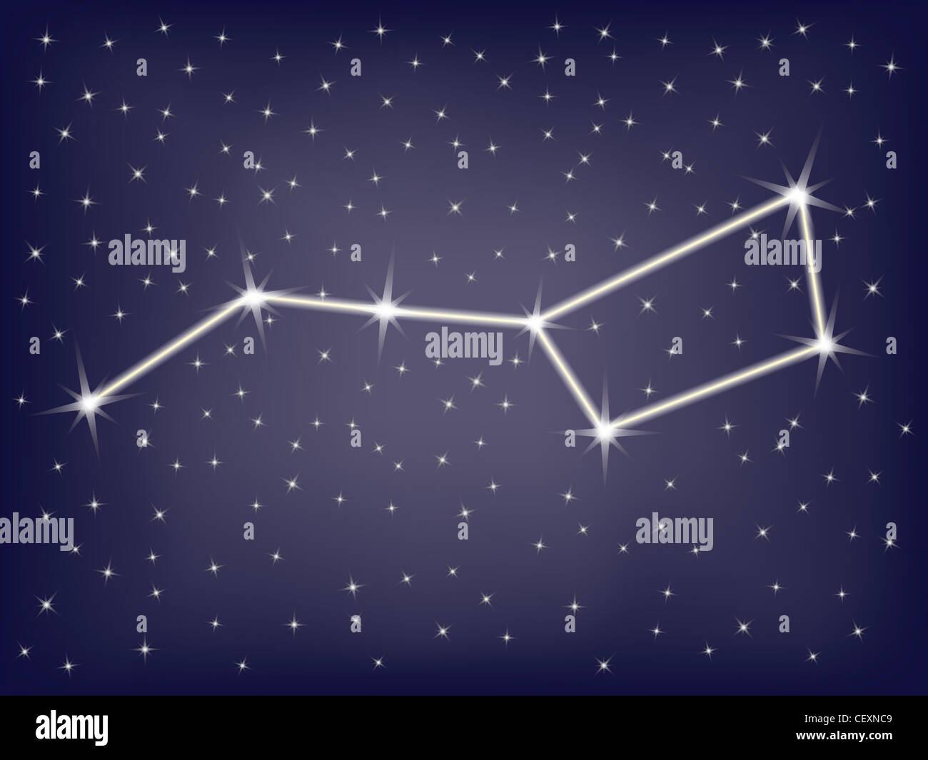 Ковш созвездия своими руками
