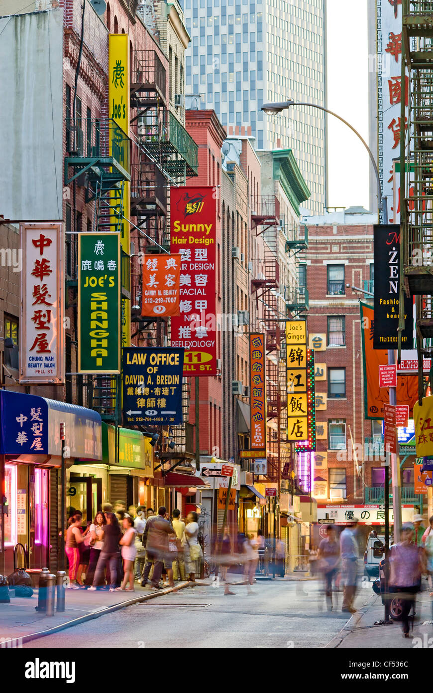 Chinatown En New York Restaurants