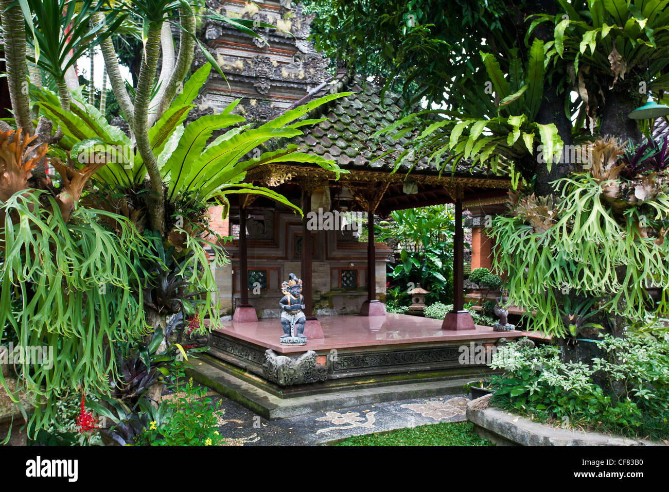 Indonesia asia bali island ubud balinese garden for Balinese garden design