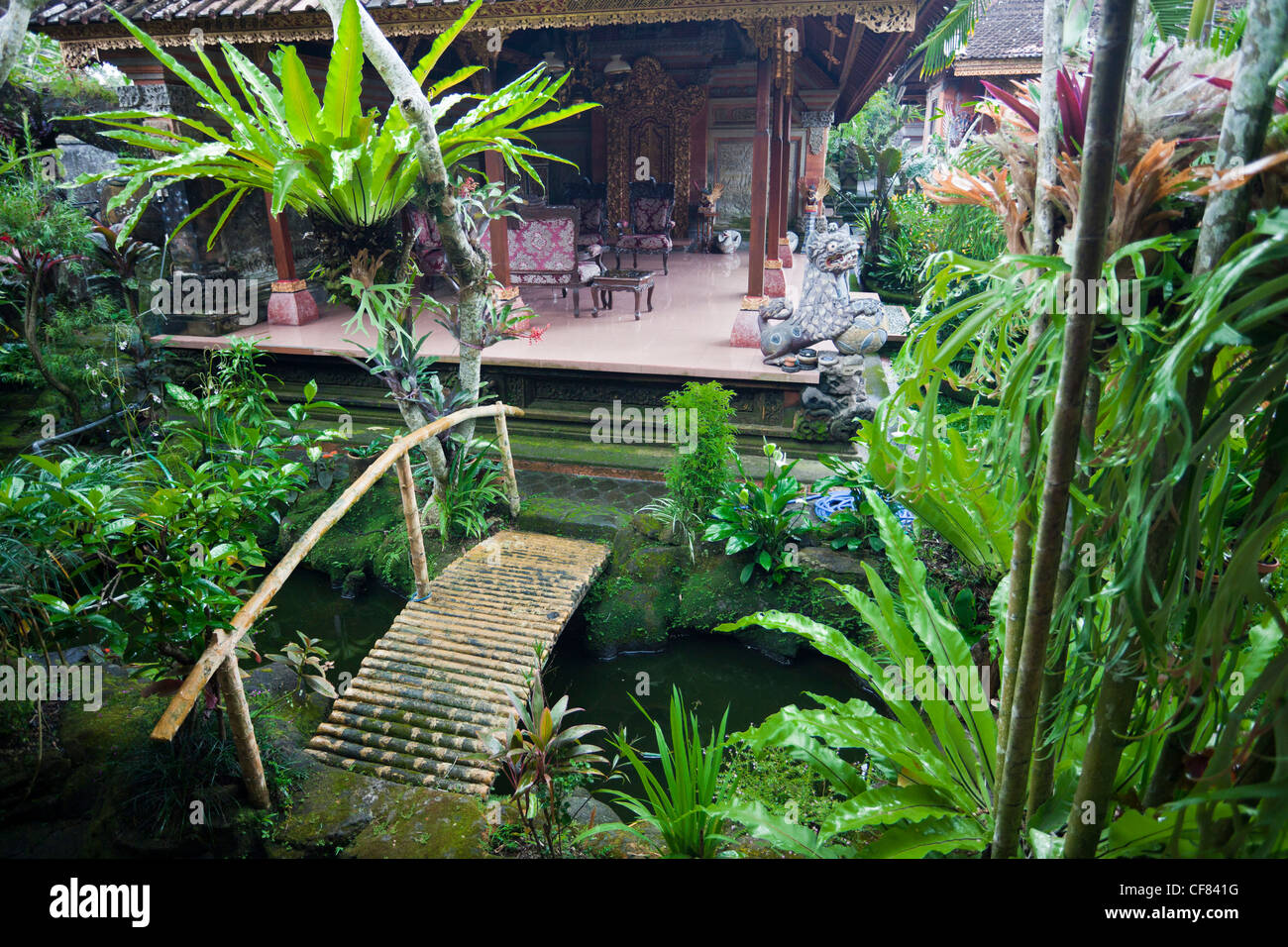Indonesia Asia Bali island Ubud Local garden living