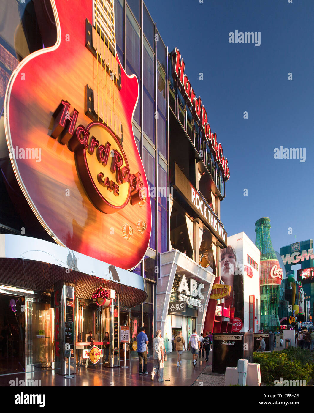 Hard Rock Cafe On The Strip