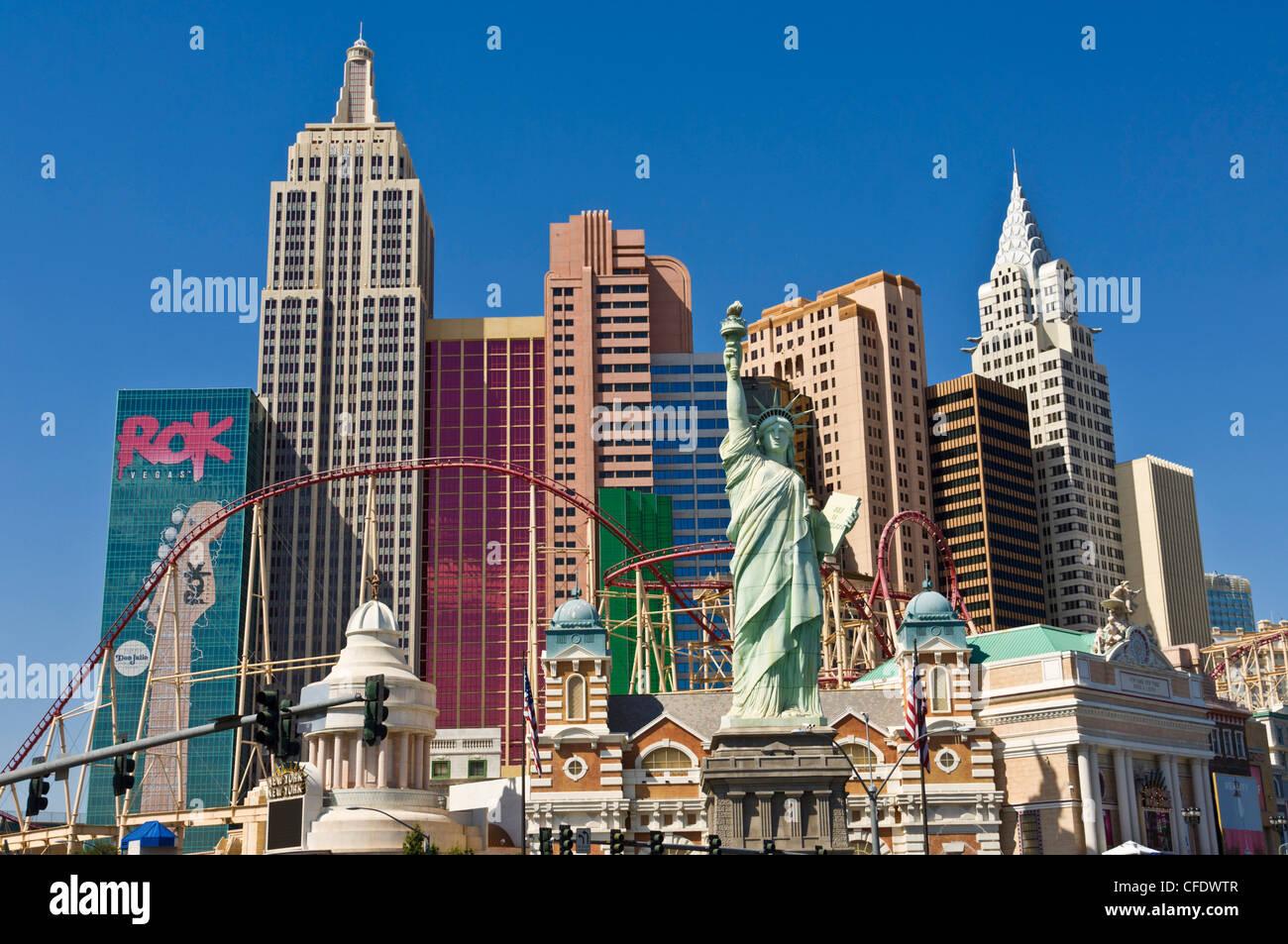 New York Hotel Roller Coaster