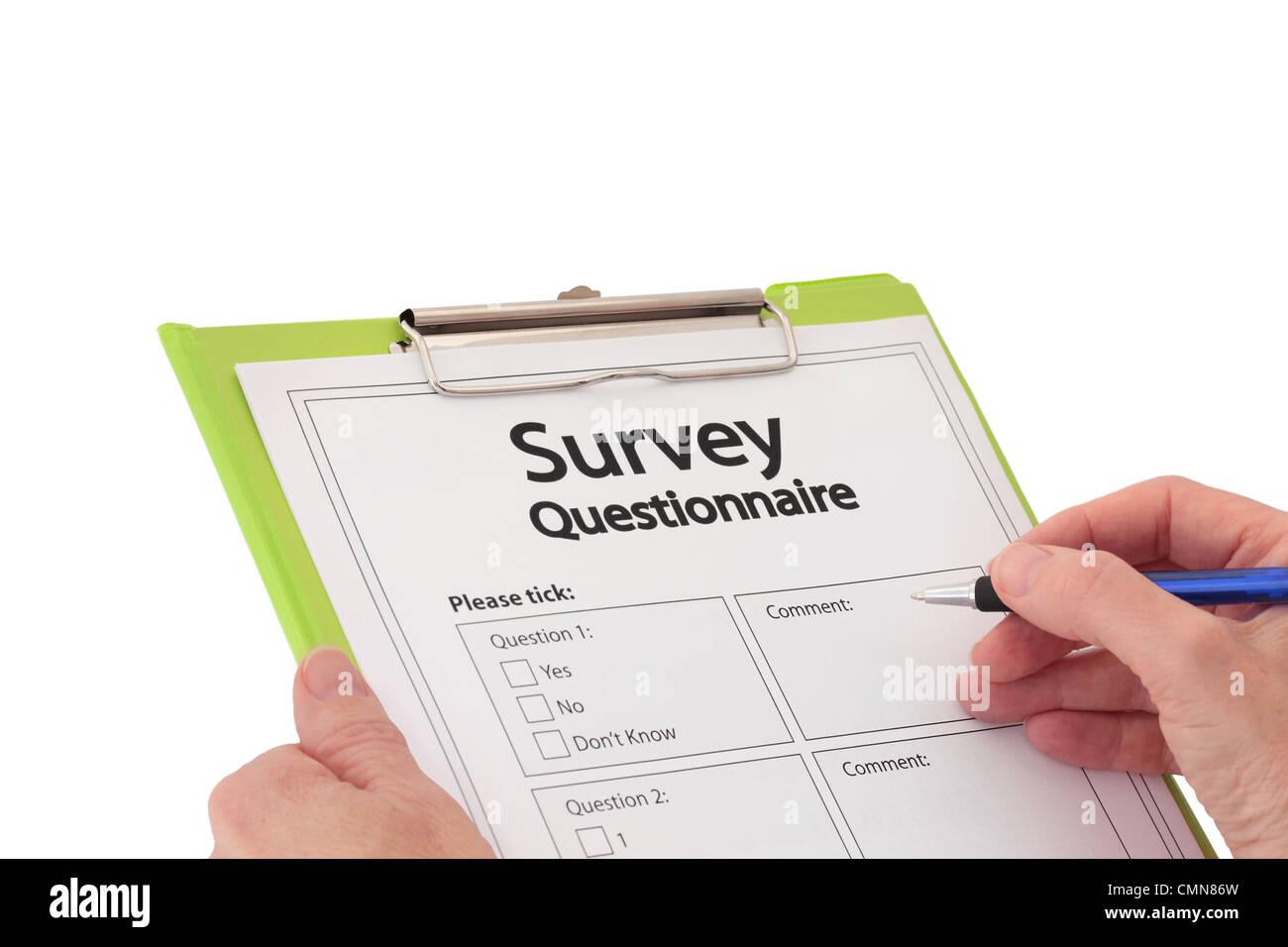 newspaper market research questionnaire