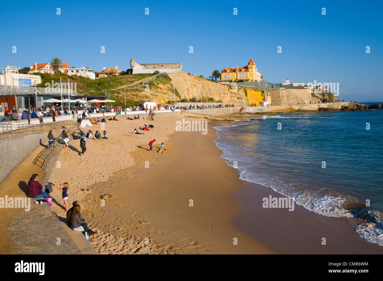 praia do poca estoril coastal resort near lisbon
