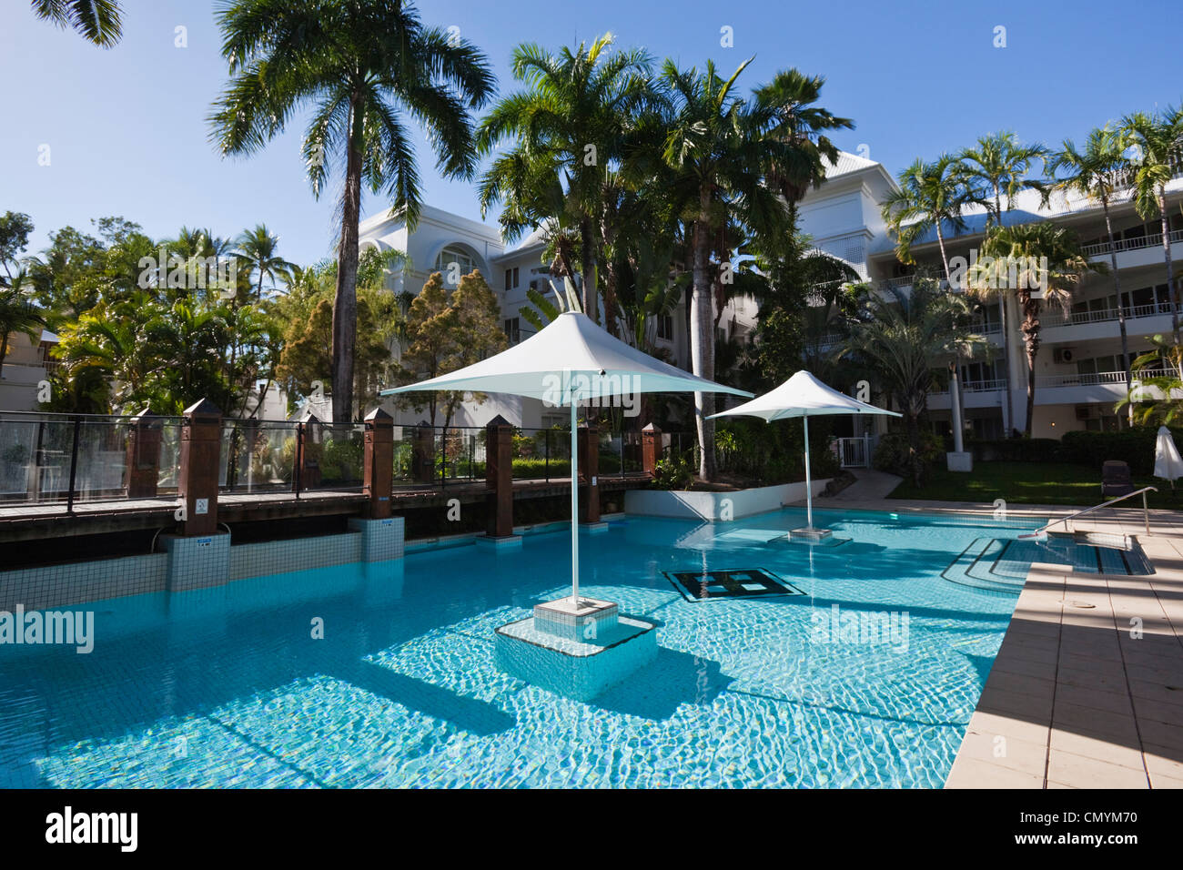 Swimming Pool At Angsana Resort And Spa Palm Cove Cairns Stock Photo Royalty Free Image