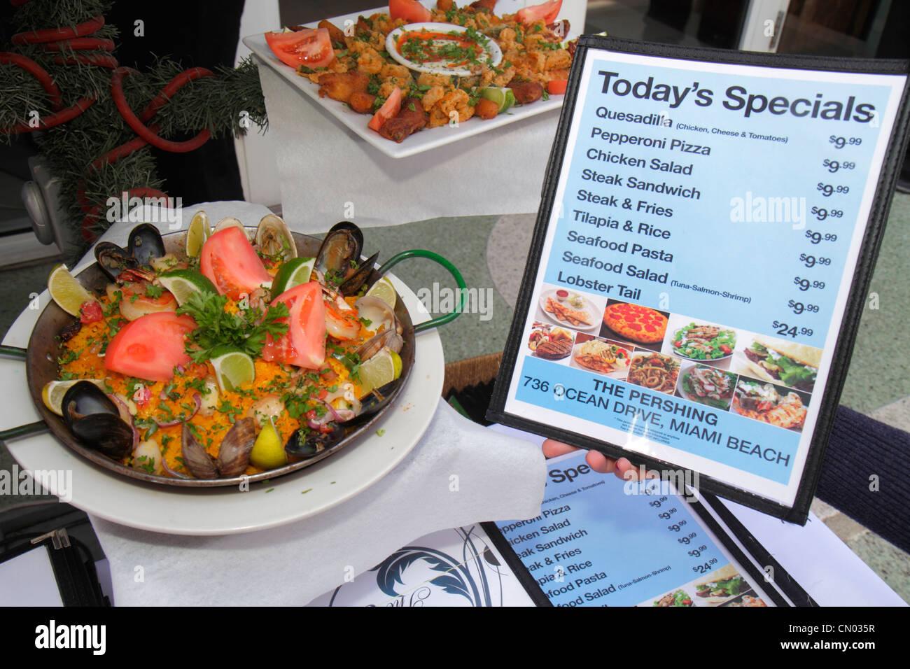 Italian Restaurants Ocean Drive Miami Beach