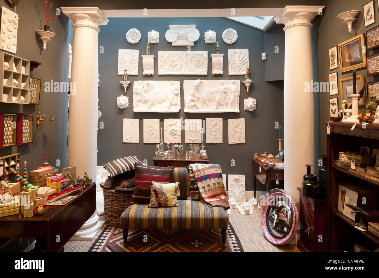 United kingdom london bloomsbury ben pentreath shop interior stock photo royalty free image Interior design stores london