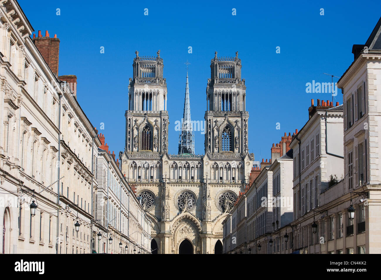 France loiret orleans ste croix cathedral and facades for Loiret orleans