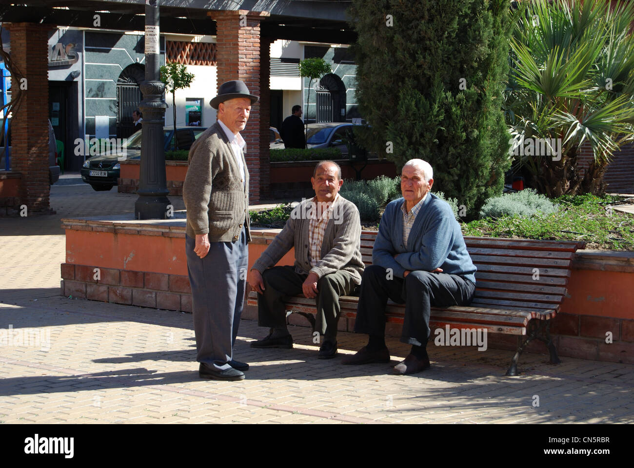 Old men chatting