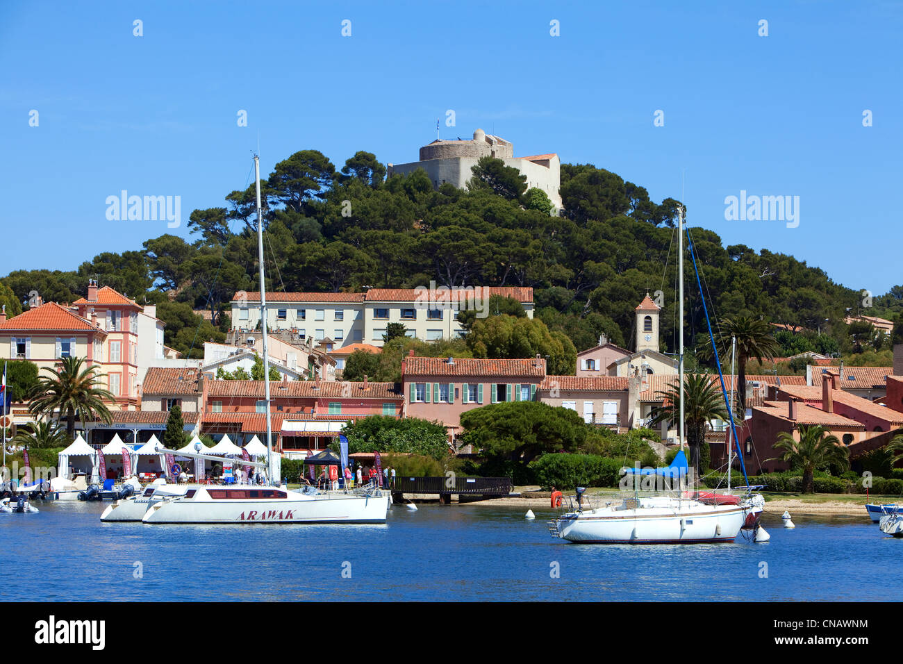France var iles d 39 hyeres national park of port cros for Decor de france hyeres