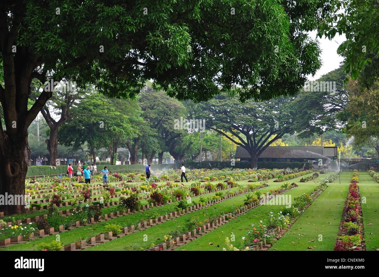 Kanchanaburi (Don-Rak) War Cemetery, Saeng Chuto Road ...