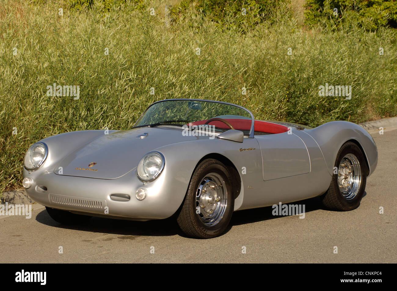 Porsche 550 Spyder James Dean Replica Stock Photo Royalty