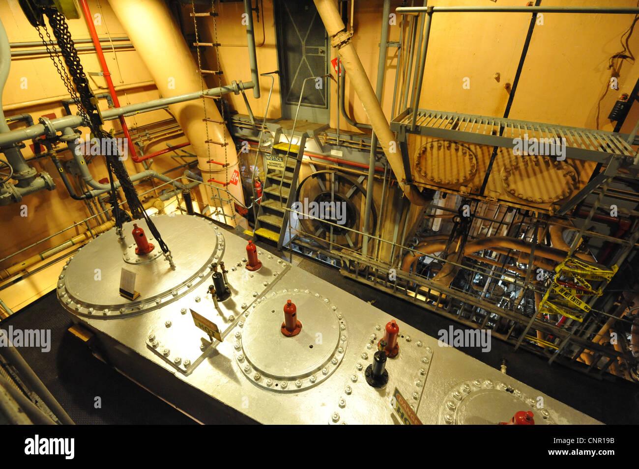 Ss Jeremiah O 39 Brien A Liberty Ship Engine Room Stock Photo Royalty Free Image 47834455 Alamy