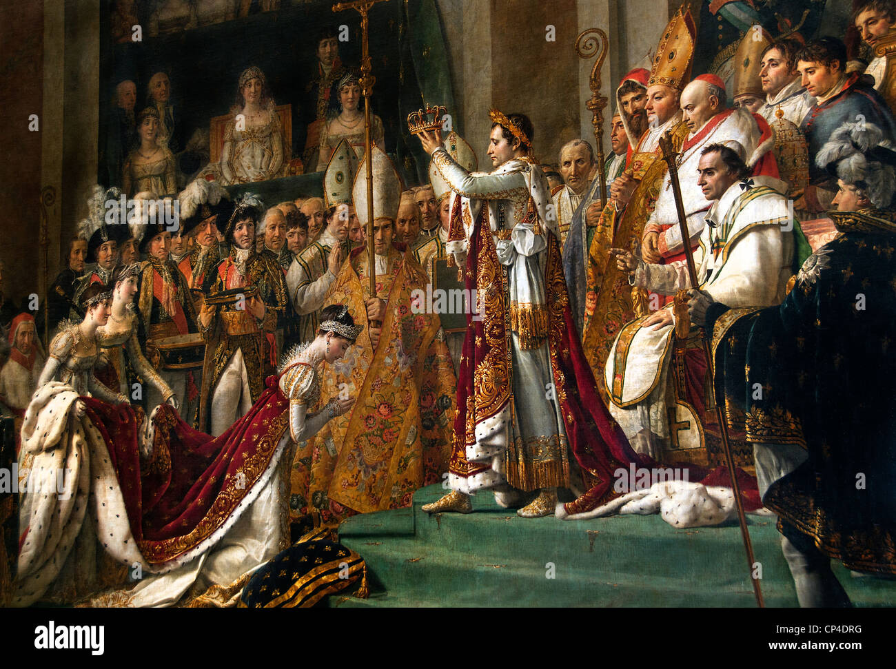 Consecration Emperor Napoleon Bonaparte And Josephine 1807