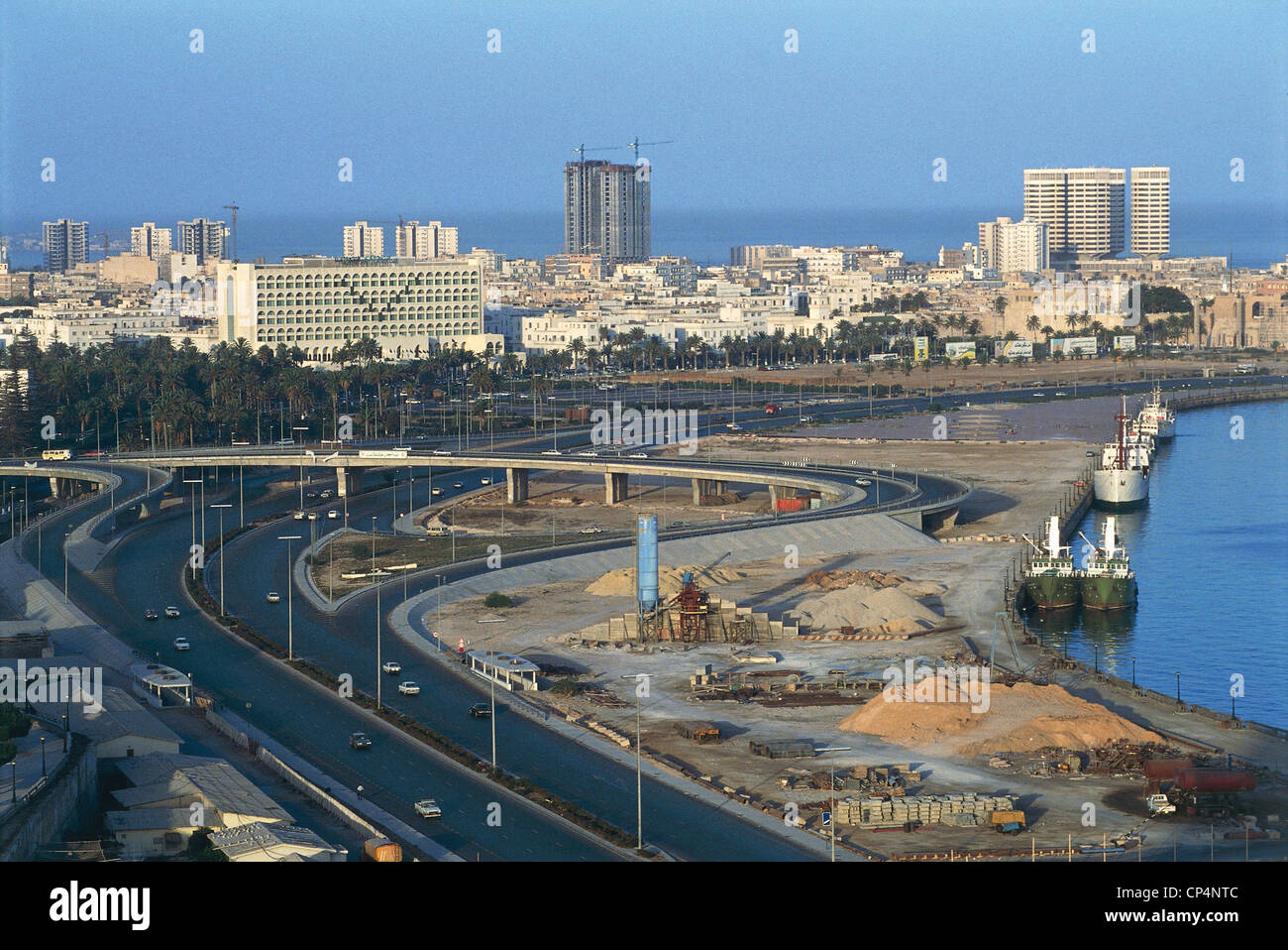 Libya >> Libya - Tripoli - Tripoli And The Port Stock Photo, Royalty Free Image: 48048124 - Alamy