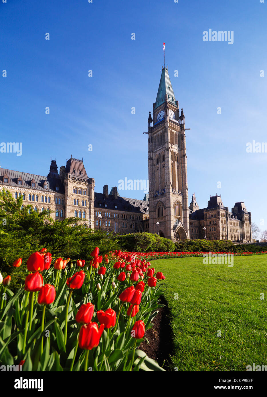 where does the canadian federal parliament meet