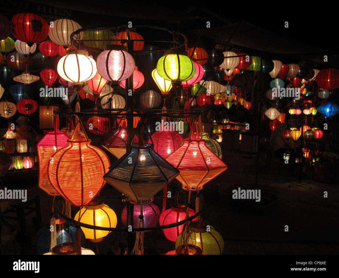 lampions laternen hoi an vietnam asien stock photo. Black Bedroom Furniture Sets. Home Design Ideas