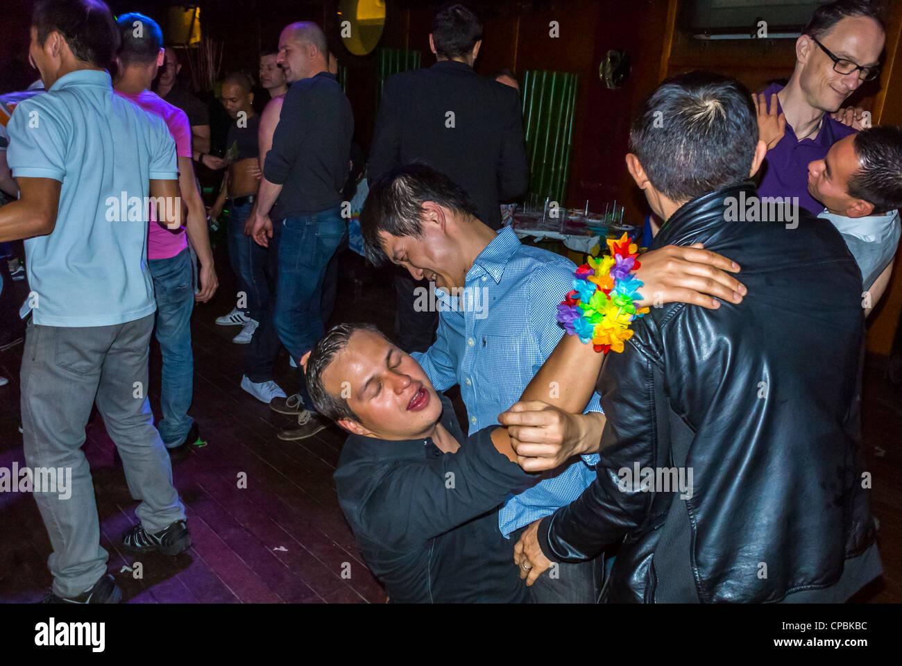 Gay men wrestling videos
