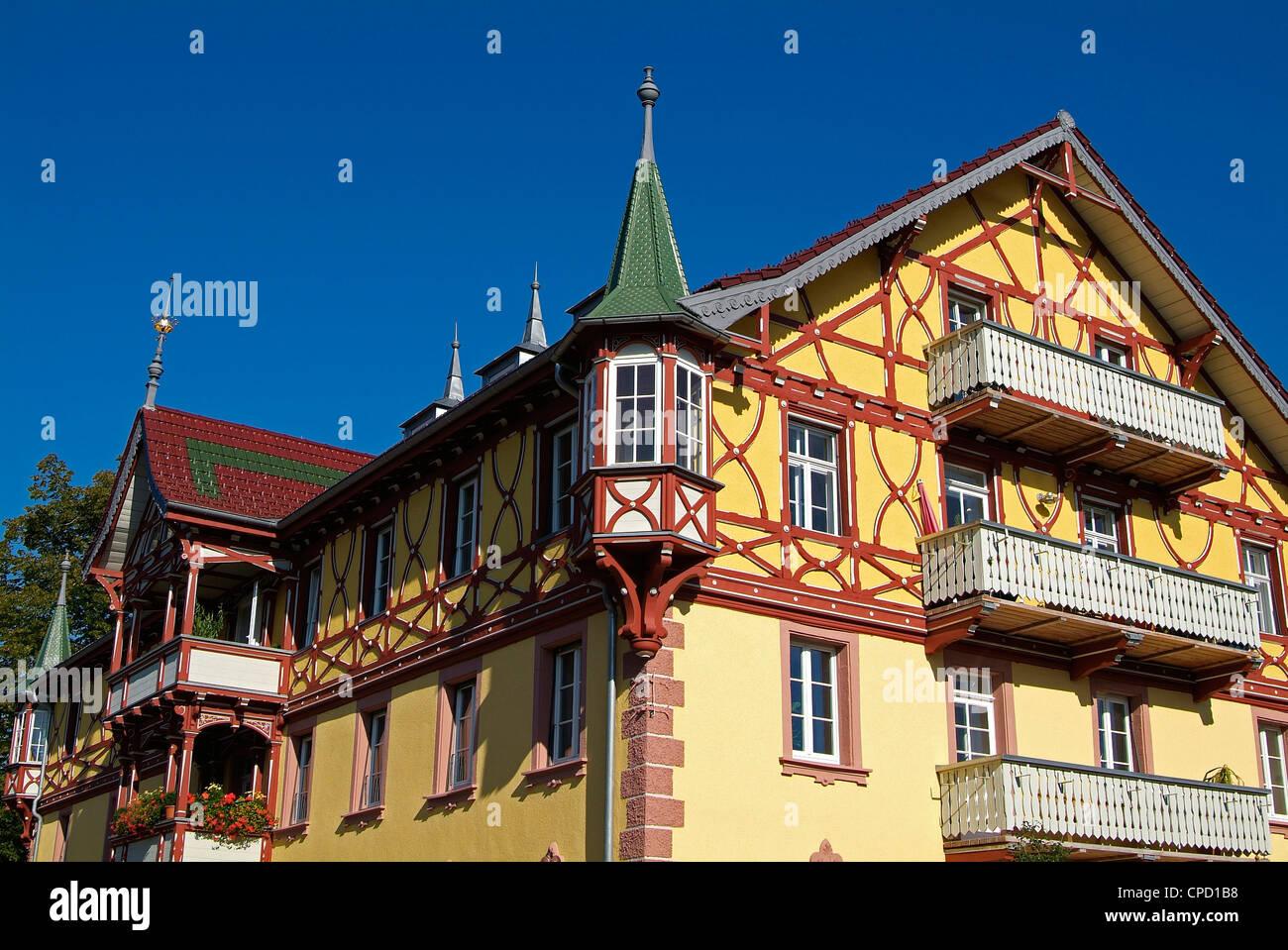 House In St. Margen, Black Forest, Baden-Wurttemberg