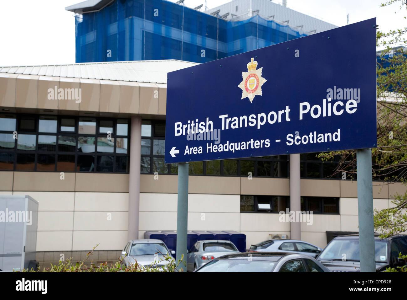 British transport police area headquarters glasgow - British transport police press office ...