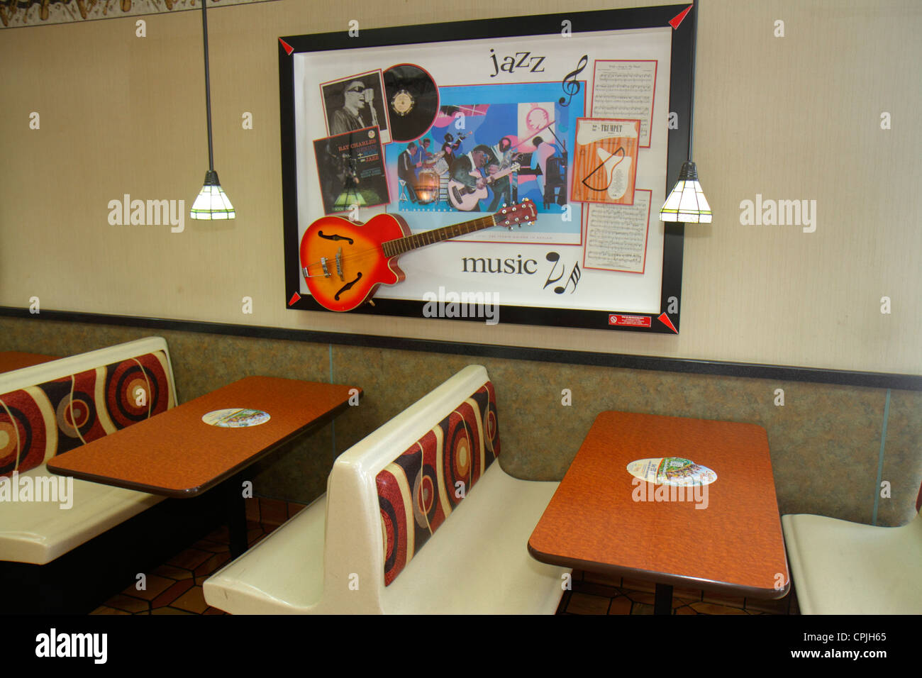Miami florida mcdonald s fast food restaurant interior