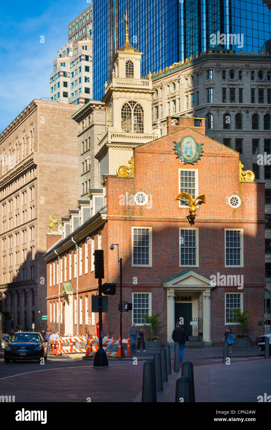 The old state house is a historic government building in for Building a house in ma