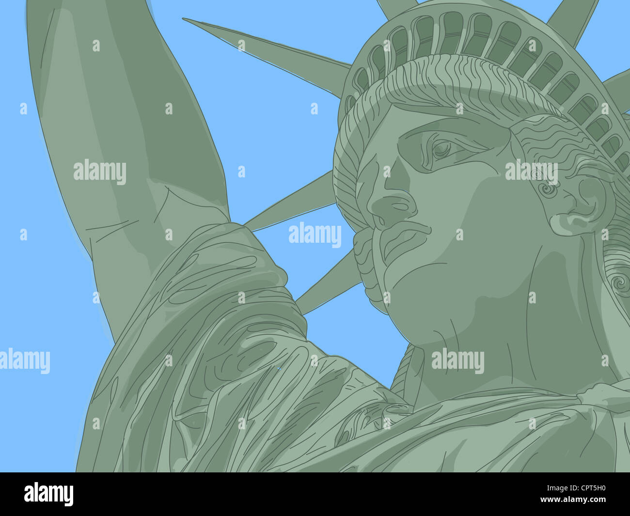 Statue of liberty Stock Foto