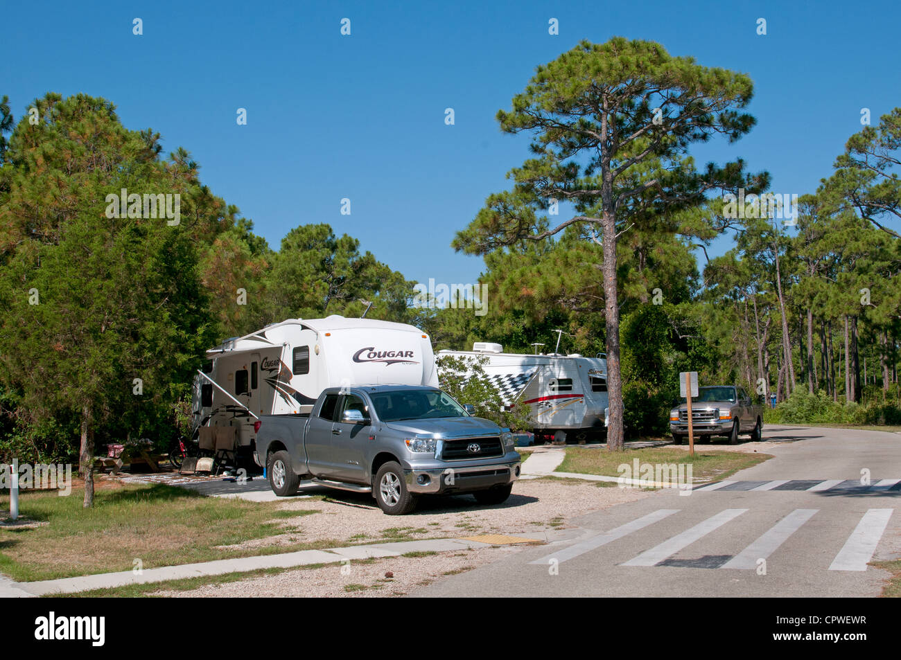 St George Island Campground
