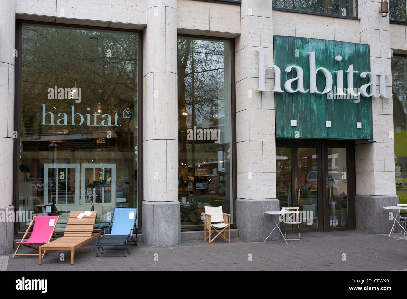 habitat shop d sseldorf germany stock photo royalty free