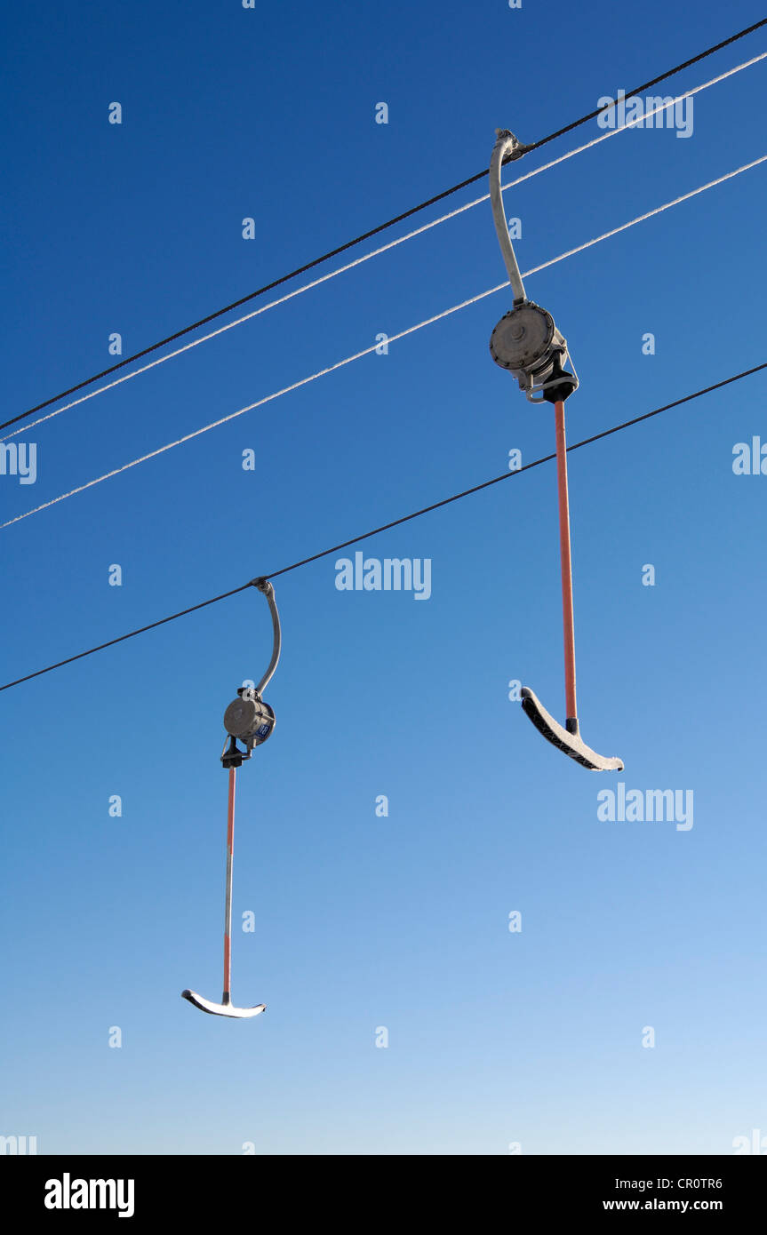 how to ride t bar ski lift