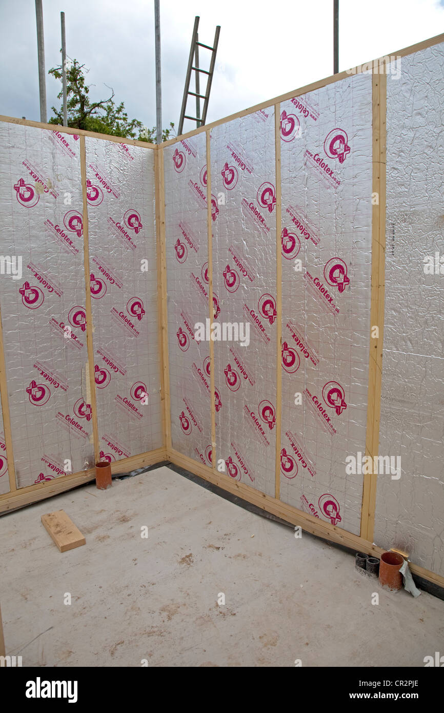 Stud Wall Insulation : Celotex insulation in stud walls timber frame house