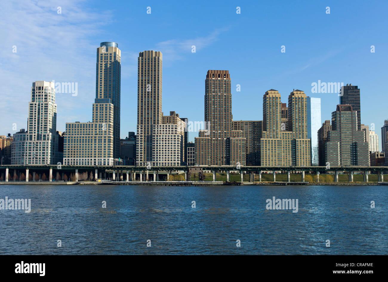 skyline upper west side hudson river new york usa stock photo royalty free image 48789678. Black Bedroom Furniture Sets. Home Design Ideas