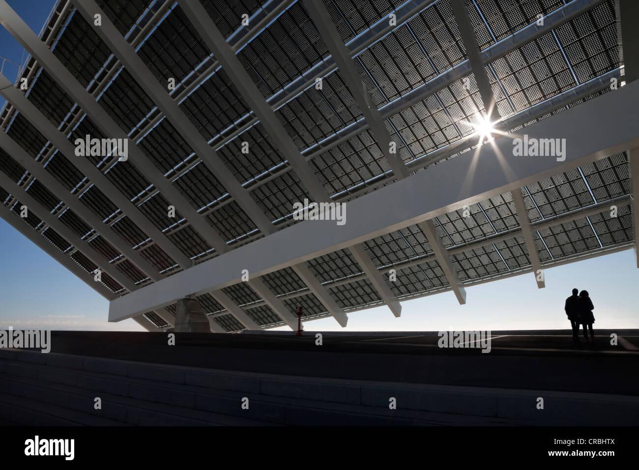 Large solar panel in barcelona forum recreation park - Solar barcelona ...