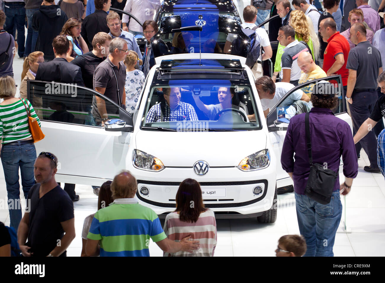 Volkswagen, VW up, 64th International Motor Show, IAA, 2011, Frankfurt am Main, Hesse, Germany, Europe Stock Photo