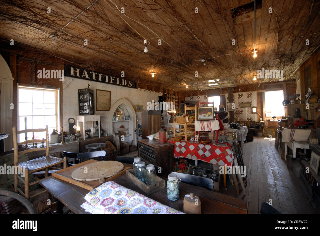 Interior Of An Antique Shop In Great Village Nova Scotia Stock Photo Royalty Free Image