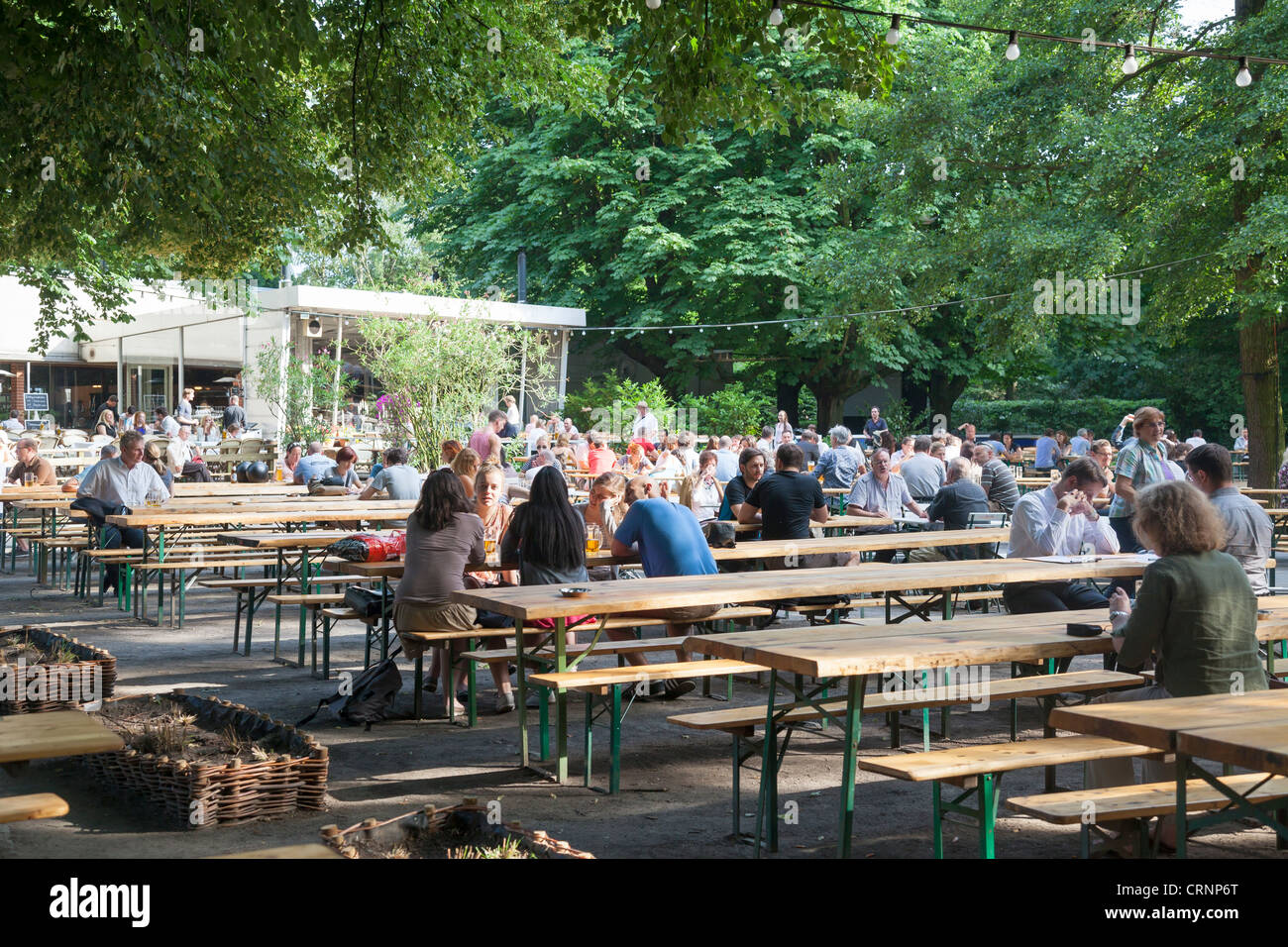 Cafe Am Neuen See Biergarten Berlin