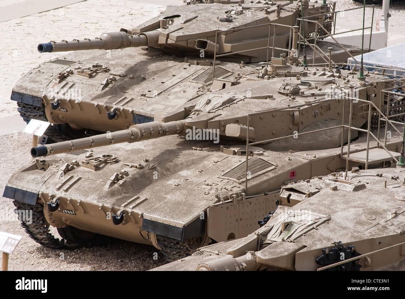 israeli-merkava-mark-iv-tank-in-latrun-a