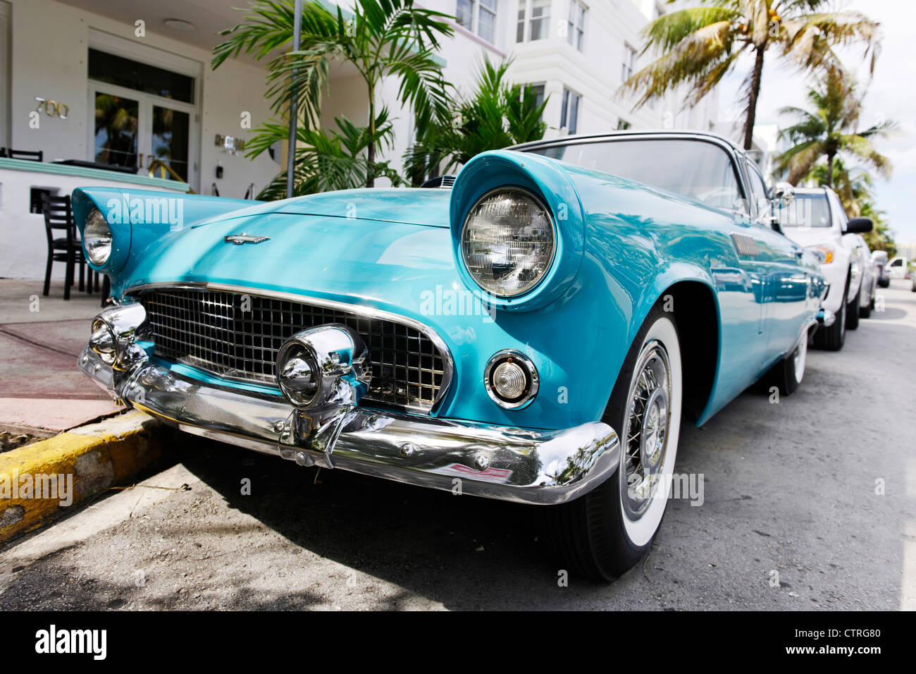 Ford thunderbird built in 1957 fifties american classic for American classic usa