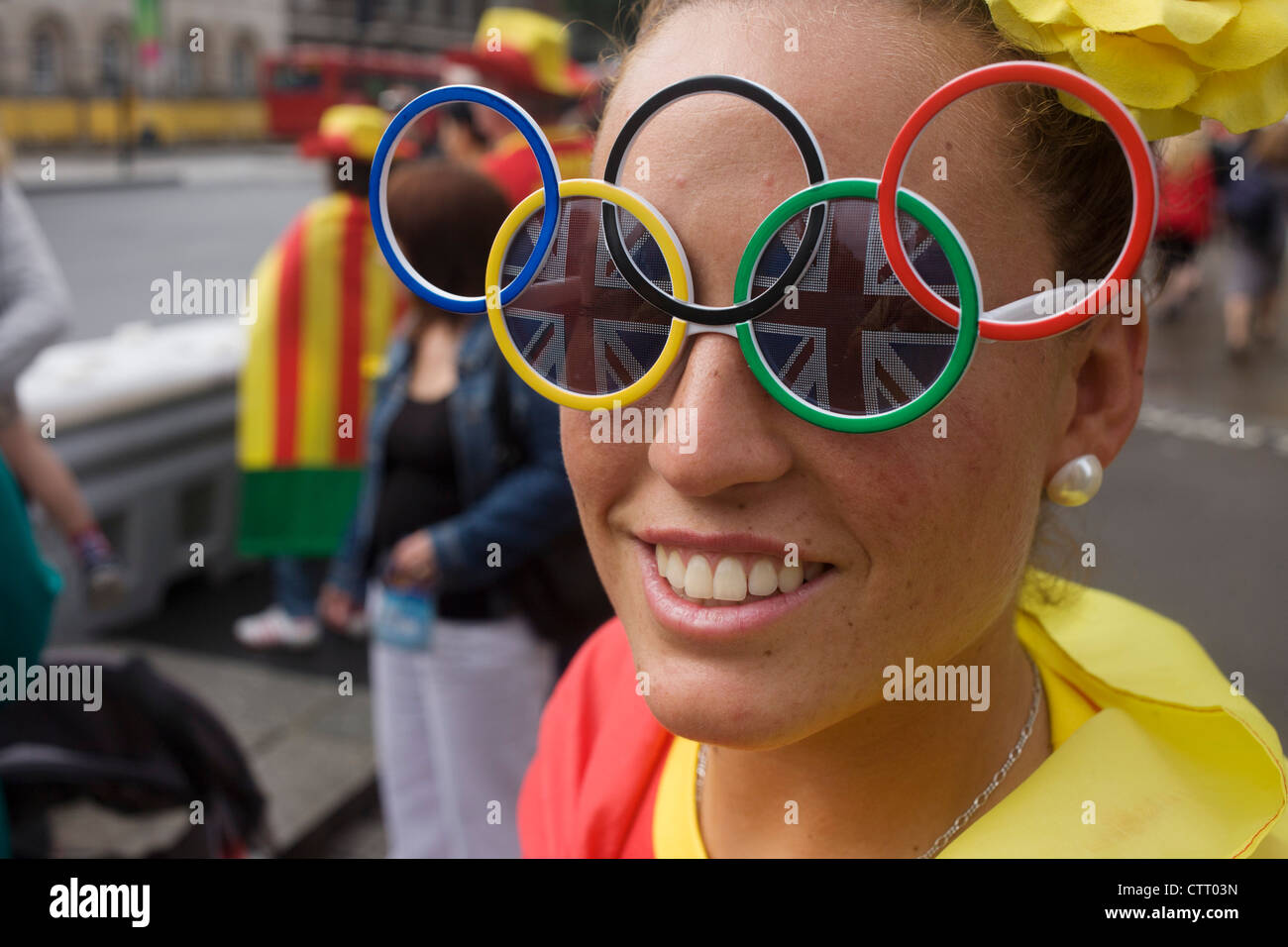 wearing-olympic-ring-glasses-a-lady-spor