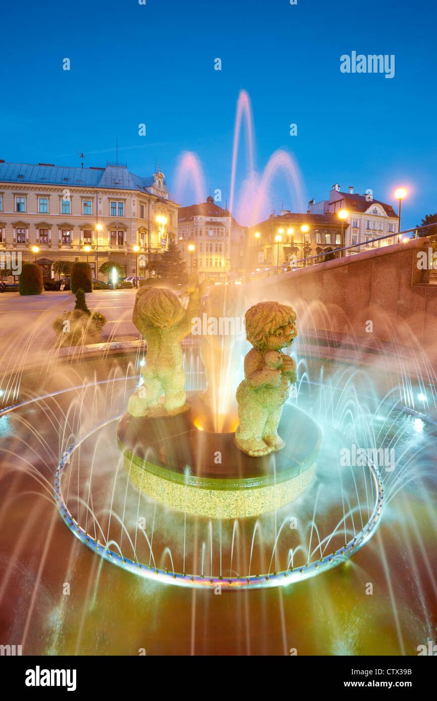 Bielsko-Biala, Silesia region, Poland, Europe Stock Foto