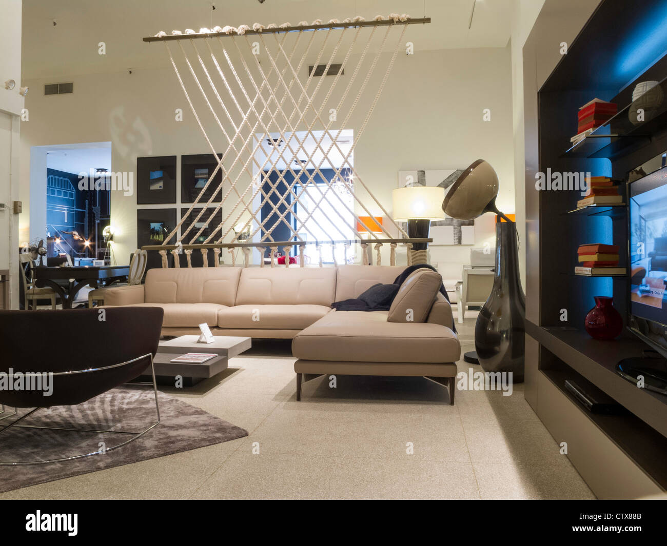 Roche Bobois Furniture Store Interior Nyc Stock Photo Royalty Free Image 49749739 Alamy
