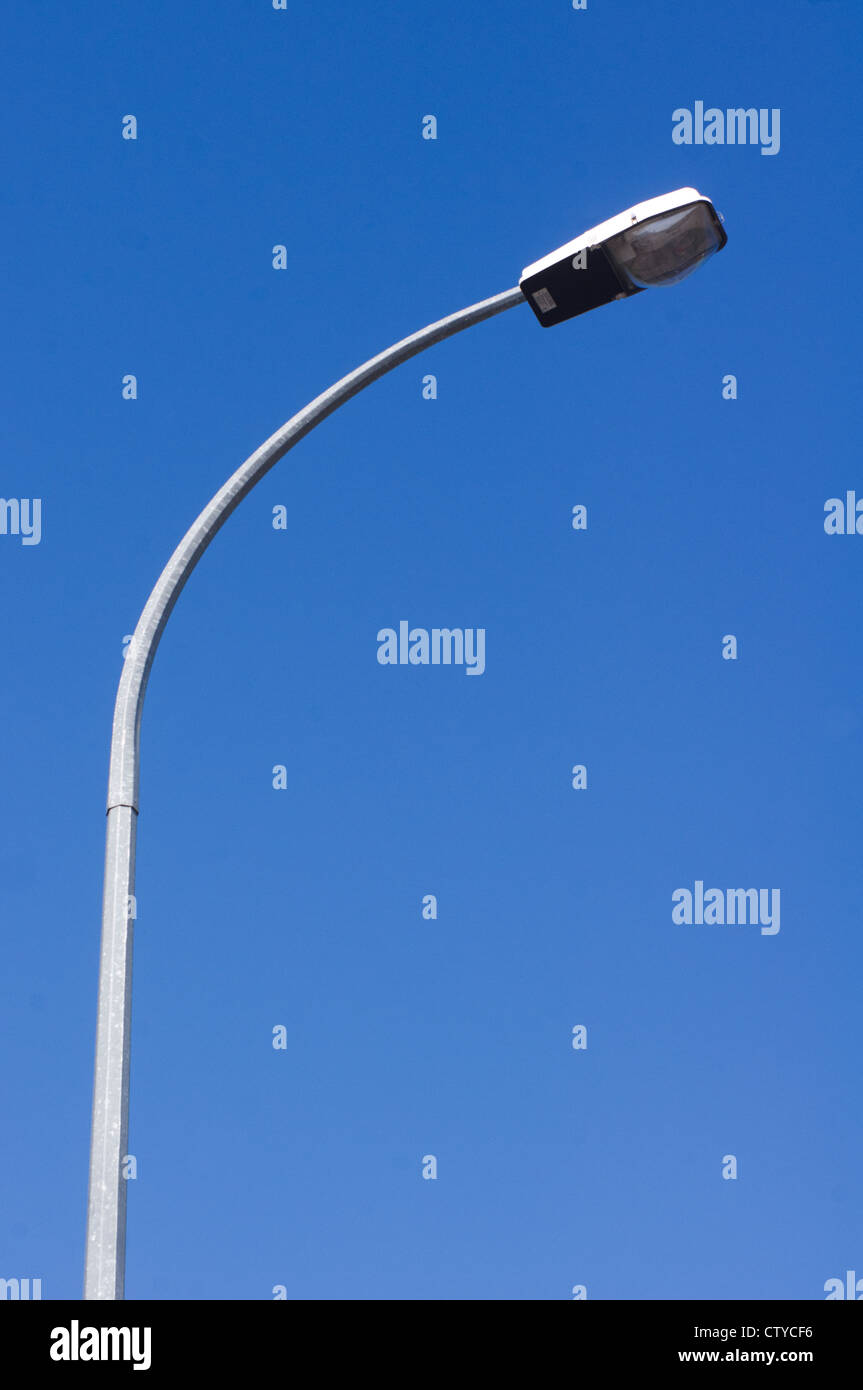 a street light with blue sky backgrounds Stock Foto