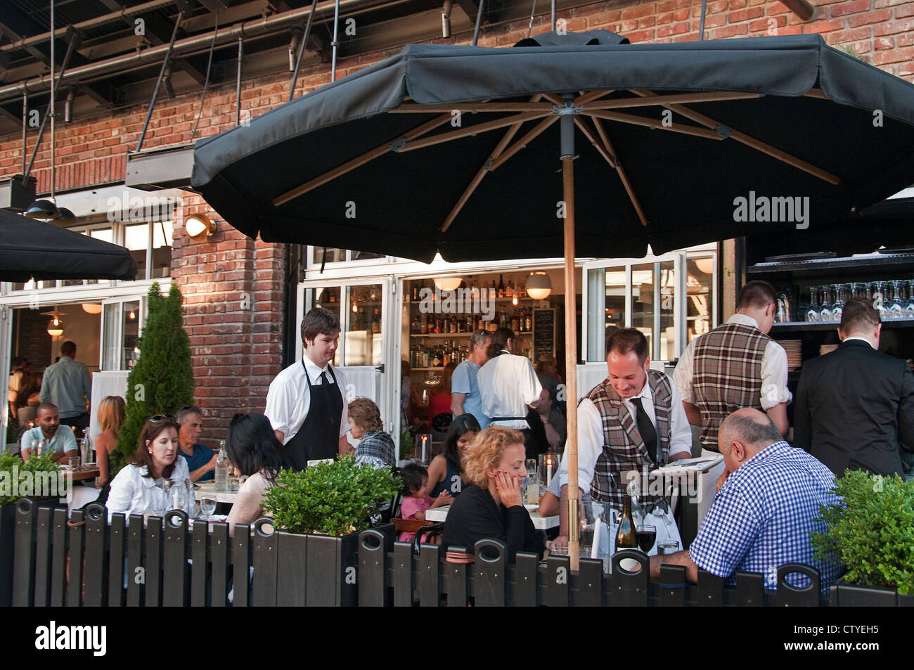 Meat Packing District Inspired Restaurant In Melbourne ·  Http://c7.alamy.com/comp/CTYEH5/west